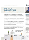 CF-DL Firing Furnace With DriTech Dryer Specification Sheet