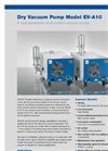 EBARA - Model EV-A - Dry Vacuum Pumps Brochure