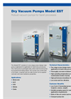 EBARA - Model ESR - Robust Dry Vacuum Pumps Brochure
