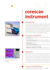 SunLab - Model Corescan - Mapping of Metal Grid Contact Resistance - Datasheet