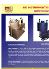 Bitumen Extractor Hand Operated – Brochure
