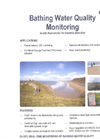 Bathing Water Quality Monitoring - In-situ fluorometer for bacteria detection