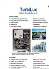 TurbiLux is a sensitive, low cost digital IR turbidity sensor designed for compliancy with ISO 7027:1999 standard