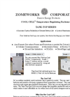Zomeworks - Model 79054 - 4 BAT Tank Top Cool Cell Enclosure - Brochure