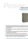 Model ACS-WM-125 - Modular Wall Mounted Switched Mode Charger Brochure