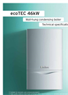 ecoTEC - Model 46kW & 65kW - High Output Boilers Brochure