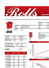 Rolls - S-1450 - Flooded Deep Cycle Batteries Datasheet