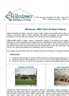Milestones Fabric Building Products