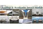 Fabric Buildings and Accessories - Service Module 1