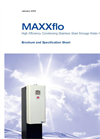 MAXXflo - High Efficiency Condensing Storage Water Heaters Brochure