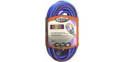 Coleman Cable - Model 02548-64 50 - 12/3 Wire Gauge Neon Stripe Outdoor Extension Cord