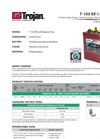 Premium Line Flooded Batteries T105 -RE Brochure