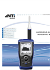 Audio and Acoustic Analyzer XL2  Leaflet