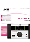 Flexus - FX100 - Analog & Digital Audio Analyzer - Leaflet