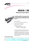 Measurement Microphones for Flexus FX100 - Brochure