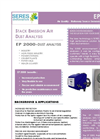 Model EP 2000 - Stack Dust Analysis Monitor Brochure