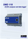 SMD 118 - AC/DC Analyser and Data Logger for Energy Management Systems Datasheet