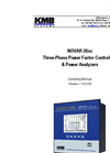 NOVAR 26xx - Three-Phase Power Factor Controllers & Power Analyzers Manual