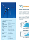 Whisper Wind Turbine 200 Brochure