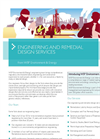 Engineering and Remedial Design services Brochure