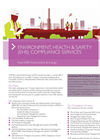 Environment, Health & Safety (EHS) Compliance Services Brochure