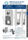 Model Type R4 - Flanged Throttling Slide Gate - Datasheet