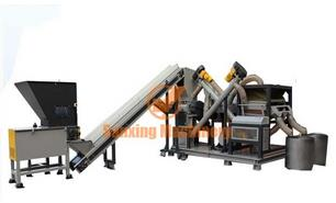 Henan - Model SX - Gravity Separating Method Copper Wire Recycling Equipment