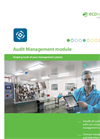 EcoWebDesk - Internal and External Audits in Environmental, Health and Safety Management Software Brochure