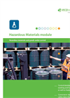 EcoWebDesk - Safe Hazardous Materials Management Software Brochure