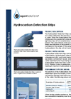 Hydrocarbon Detection Strips Application Sheet