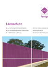 Noise Protection Wall Brochure