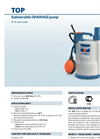 Electric Submersible Water Pump for Domestic Flooding & Drainage- Brochure