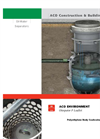 ACO - Model Oleopator P - Spill Control Oil-Water Separator - Brochure