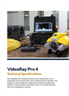 VideoRay - Model Pro 4 - Submersible System - Technical Specifications