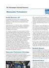 Wastewater Pretreatment Technology Brochure