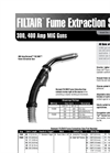 Bernard FILTAIR Fume Extraction MIG Gun Spec Sheet
