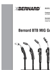 Bernard BTB Semi-Automatic MIG Gun Owner's Manual
