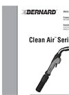 Bernard Clean Air Fume Extraction MIG Gun Owner's Manual