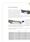 Screw Compactors Products Catalogue