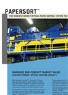 PaperSort - Optical Paper Sorting System Brochure