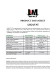Model LM 315 NT - 315 lb - Woven Stabilization Geotextile Fabrics - Datasheet