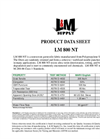 L & M - Model LM 800 NT 8oz - Needle Punched Non Woven Geotextile Fabrics - Datasheet