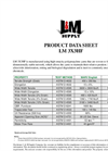 L & M - Model LM 3X3HF - High Strength / High Performance Geotextile Fabrics - Datasheet
