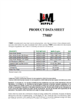 L & M 770HP High Strength / High Performance Geotextile Fabrics - Product Data Sheet