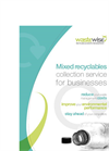 Dry Mixed Recycling Services - Brochure