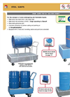 LACONT - Drum Carts For 60 / 200 Liter Drum - Brochure