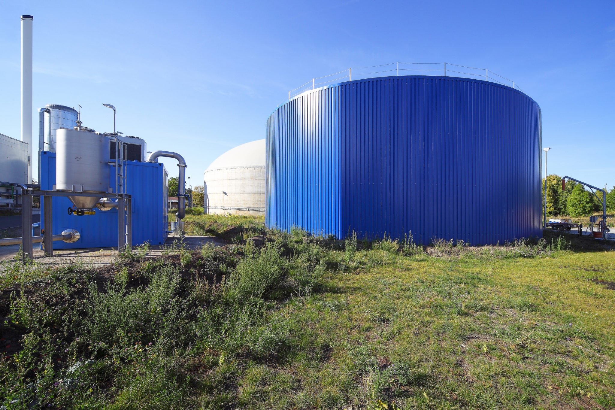 Anaergia - Industrial Wastewater Resource Recovery Plant