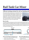 Pulsair - Rail Tank Car Mixer - Brochure