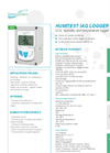Humitest - Model IAQ Logger - Humidity, Temperature and Carbon Dioxide (CO2) Logger Brochure