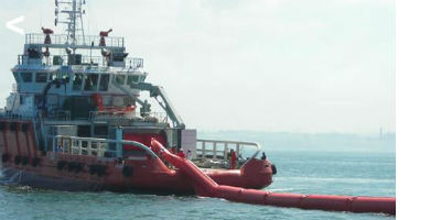 Expandi - Single Point Inflatable Oil Boom